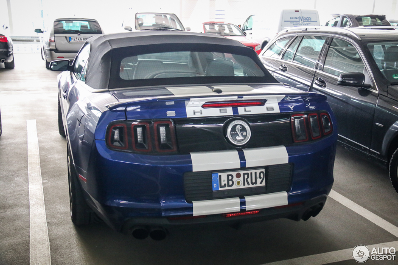 2 i ford mustang shelby gt500 convertible 2014 2