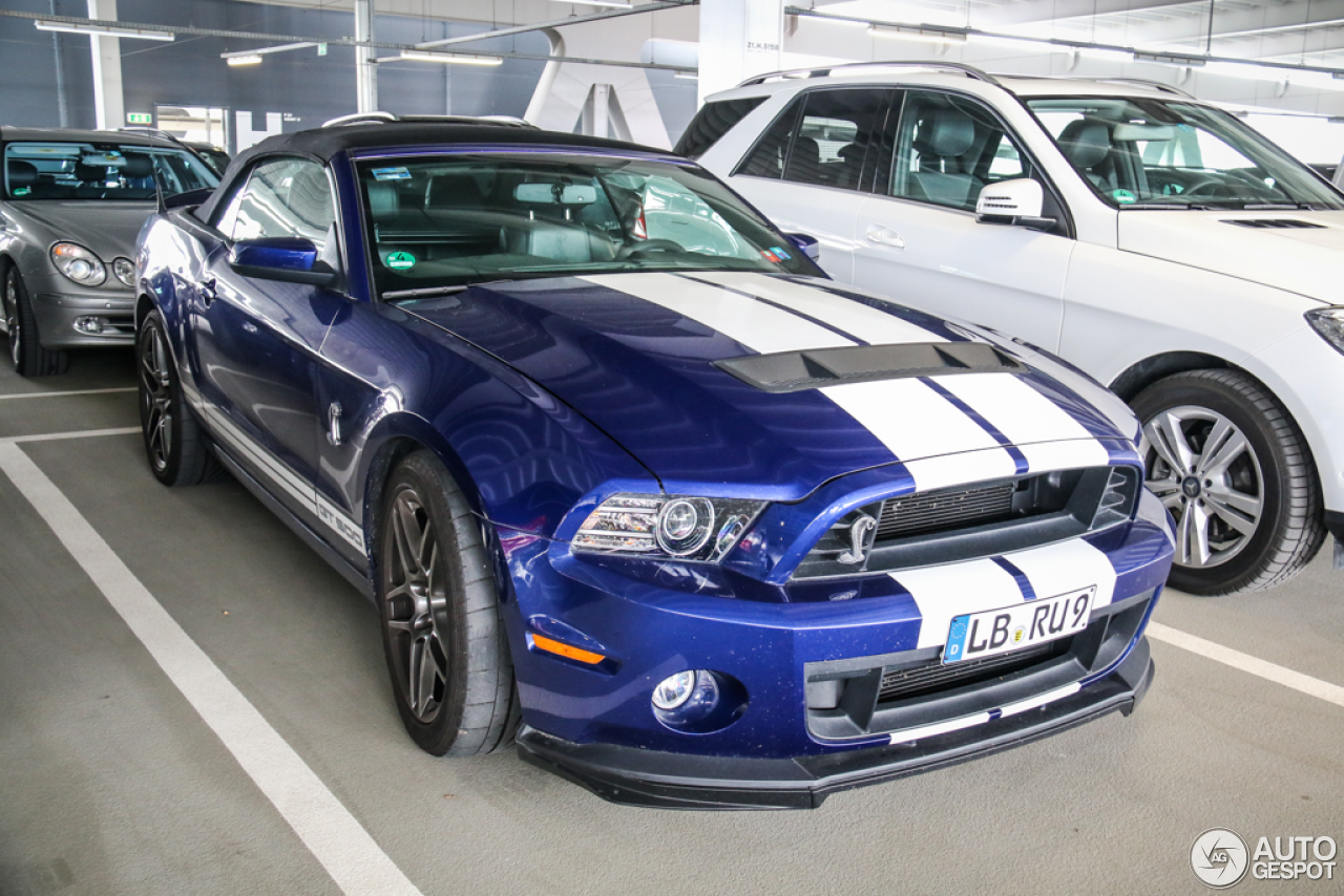 5 i ford mustang shelby gt500 convertible 2014 5