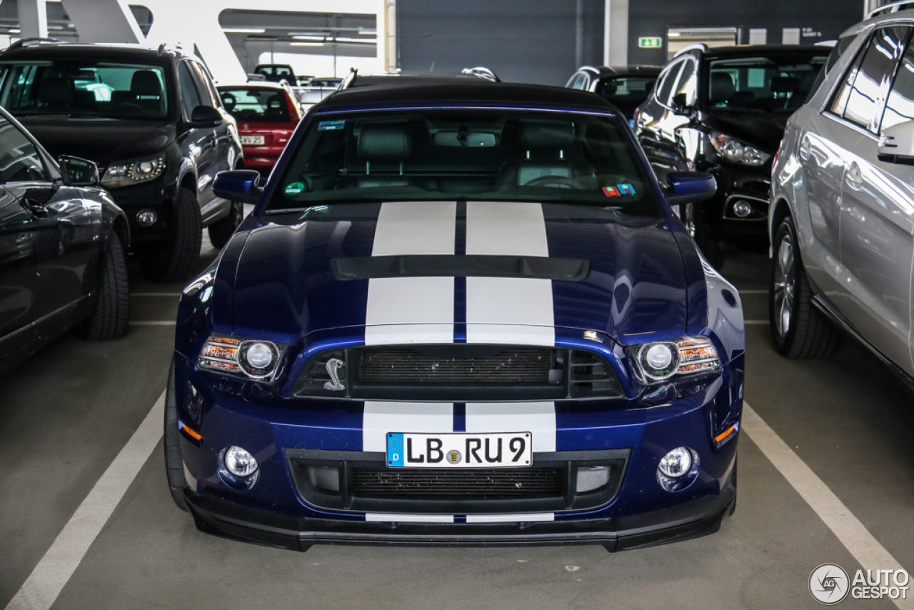 6 i ford mustang shelby gt500 convertible 2014 6