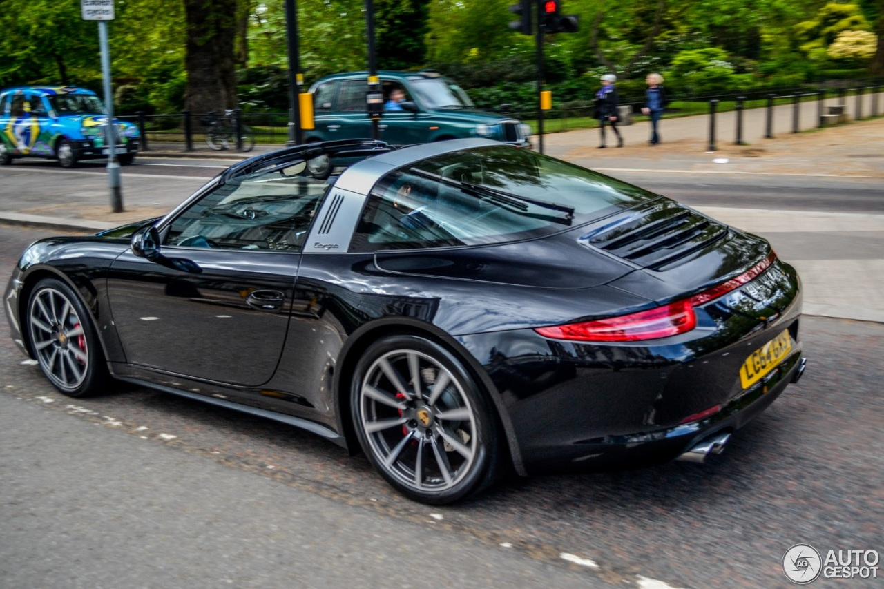 porsche 991 targa 4s 12 may 2015 autogespot. Black Bedroom Furniture Sets. Home Design Ideas