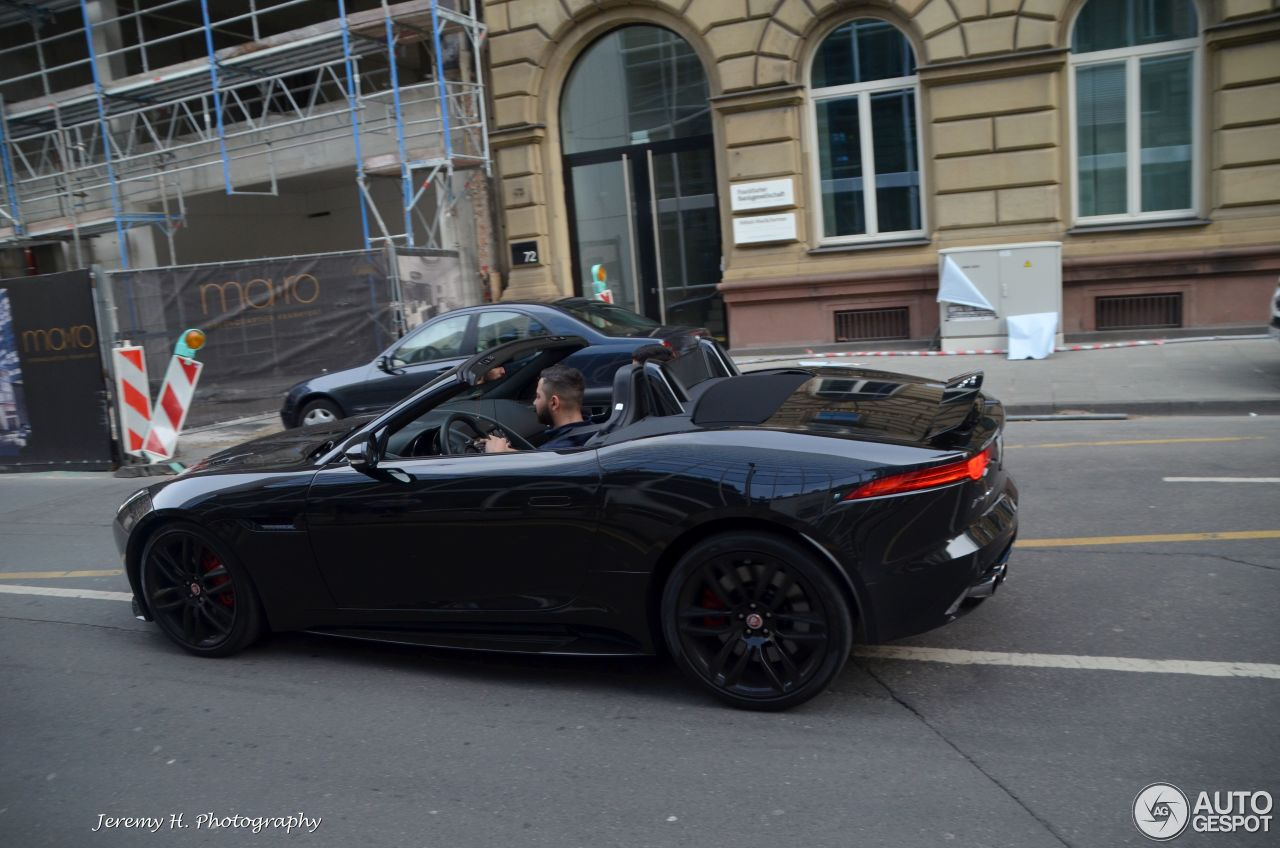 jaguar f type r awd convertible 13 may 2015 autogespot. Black Bedroom Furniture Sets. Home Design Ideas