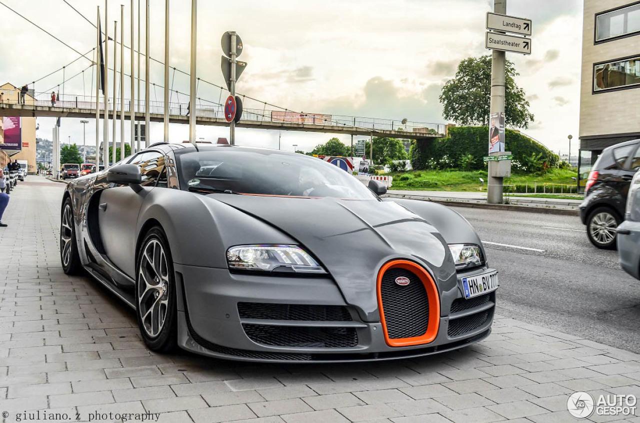 Bugatti Veyron 16 4 Grand Sport Vitesse 14 May 2015