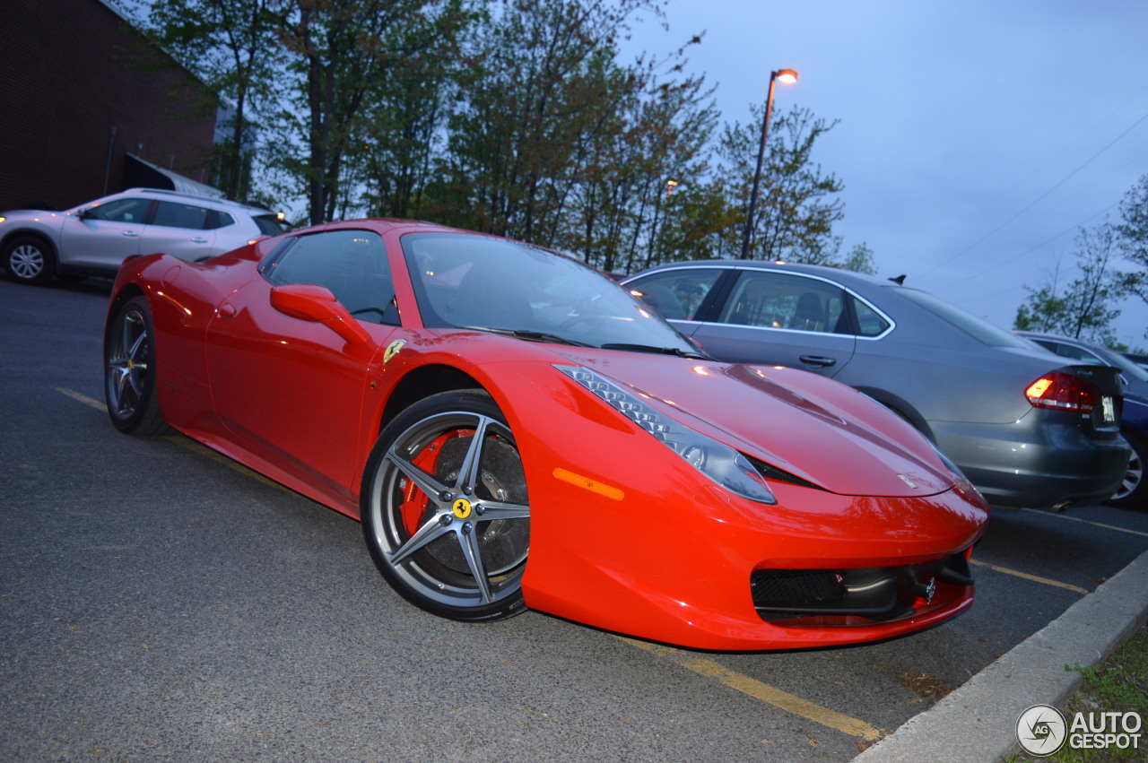 ferrari 458 spider 16 may 2015 autogespot. Black Bedroom Furniture Sets. Home Design Ideas