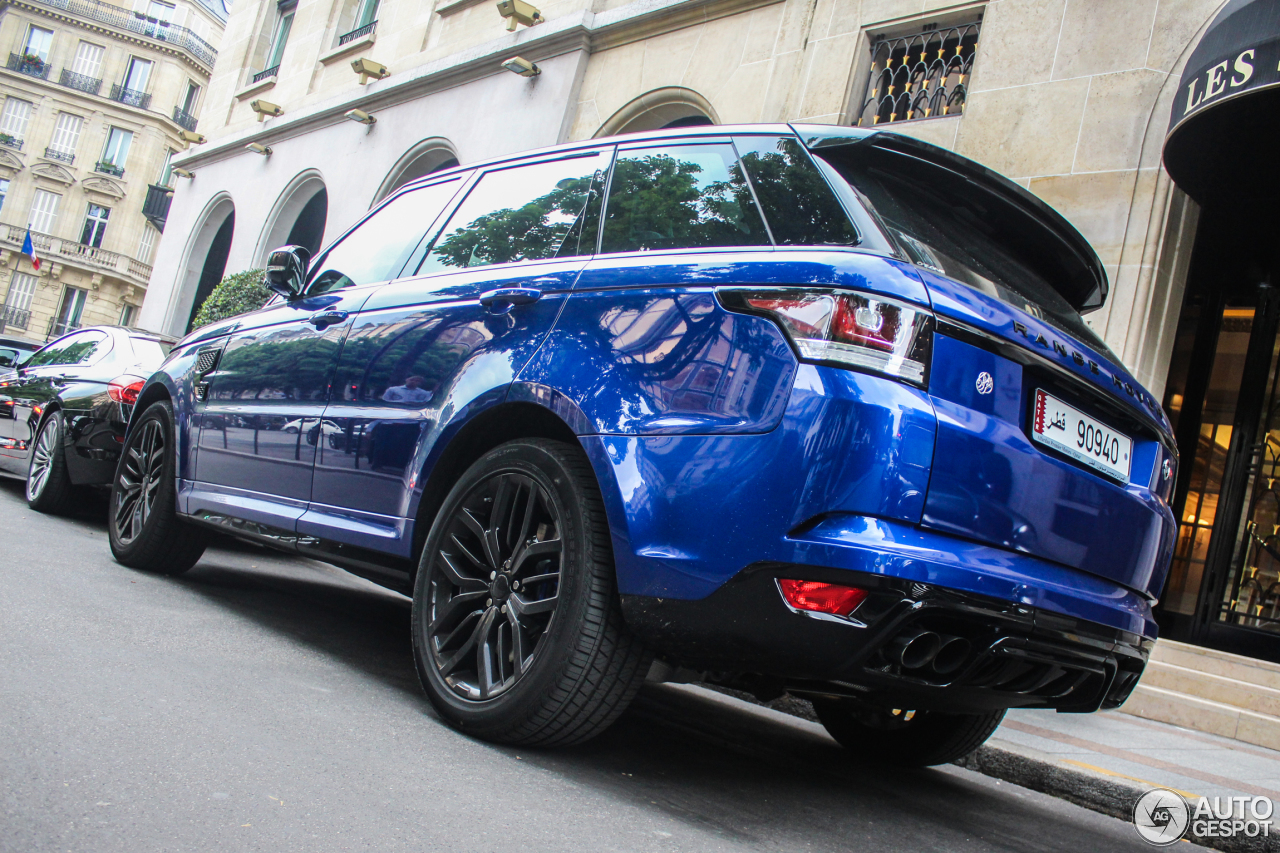 land rover range rover sport svr 16 mai 2015 autogespot. Black Bedroom Furniture Sets. Home Design Ideas