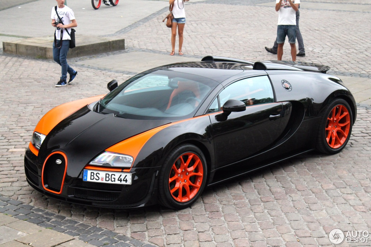 bugatti veyron 16 4 grand sport vitesse world record car edition 17 may 201. Black Bedroom Furniture Sets. Home Design Ideas