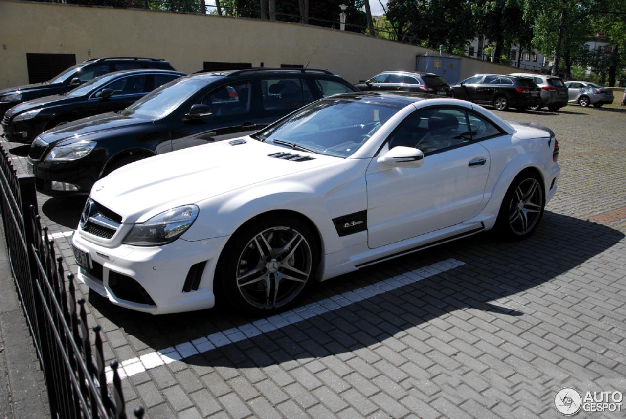 Mercedes Benz Wald Sl 63 Amg R230 Black Bison Edition 17
