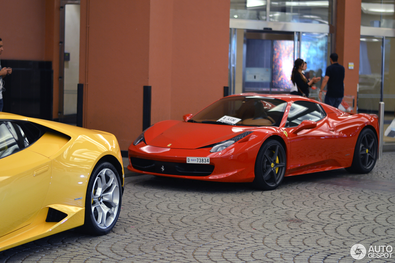 ferrari 458 spider 18 may 2015 autogespot. Black Bedroom Furniture Sets. Home Design Ideas