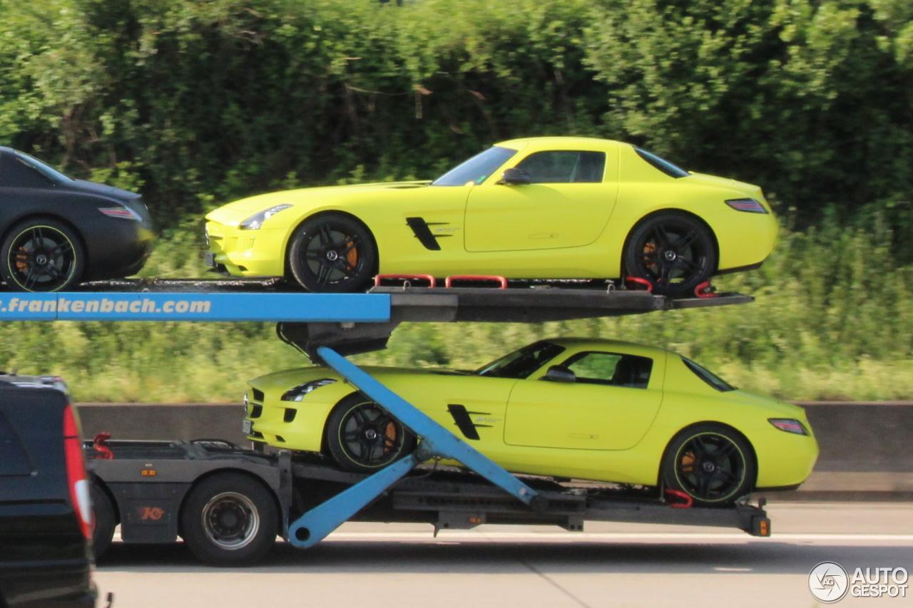 4 i mercedes benz sls amg electric drive 4 - Mercedes Benz Sls Amg Electric Drive Black