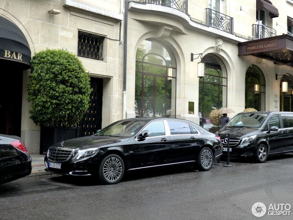 Mercedes Maybach S 600 X222 19 May 2015 Autogespot