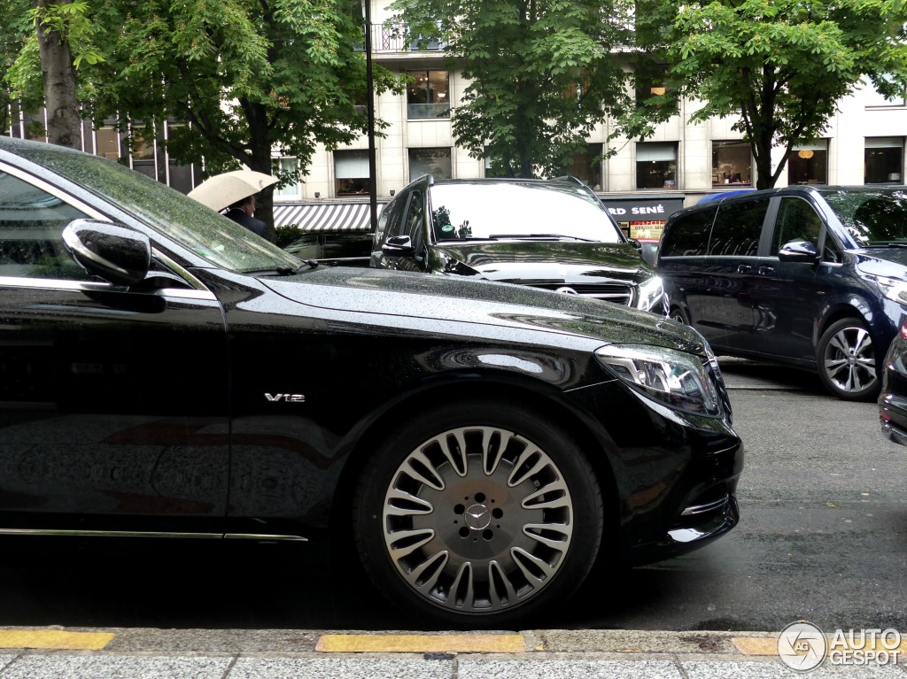 mercedes maybach s600 19 mai 2015 autogespot. Black Bedroom Furniture Sets. Home Design Ideas