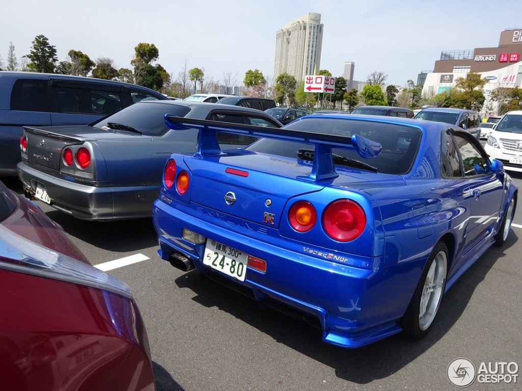 Nissan Skyline R34 Gt R V Spec Ii N 252 R 19 May 2015