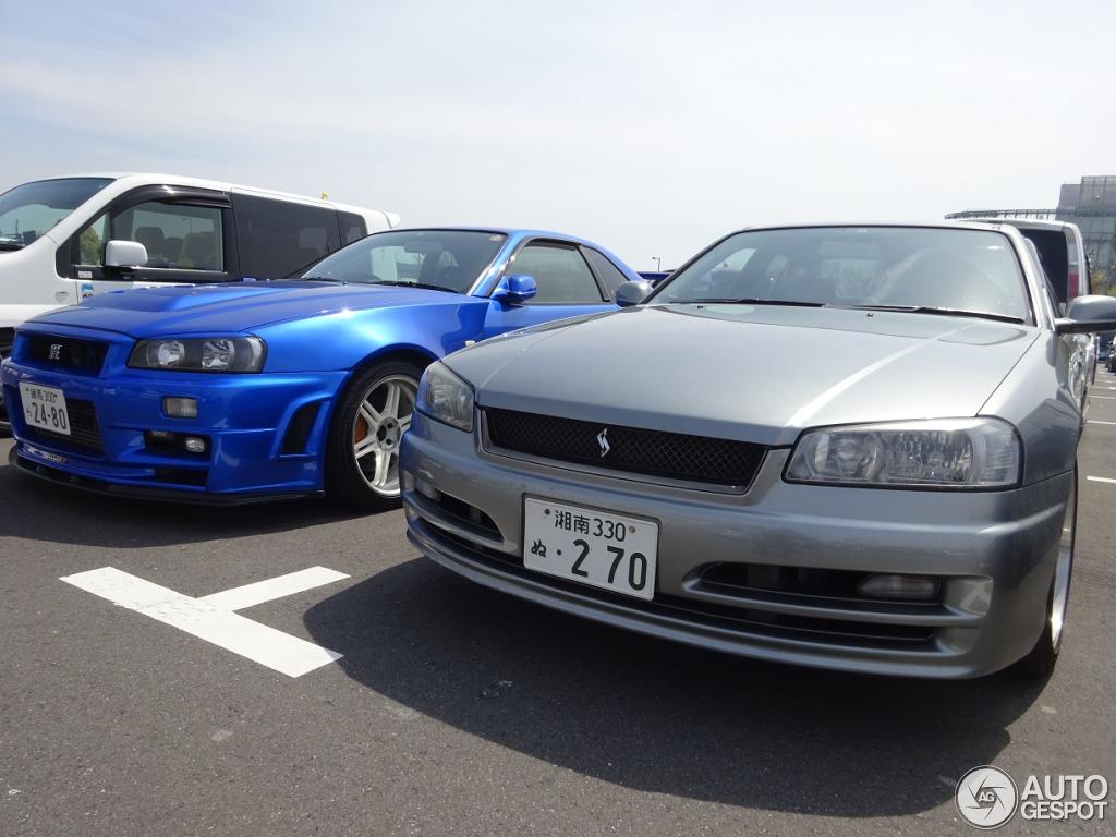 Nissan Skyline R34 Gt R V Spec Ii N 252 R 19 May 2015