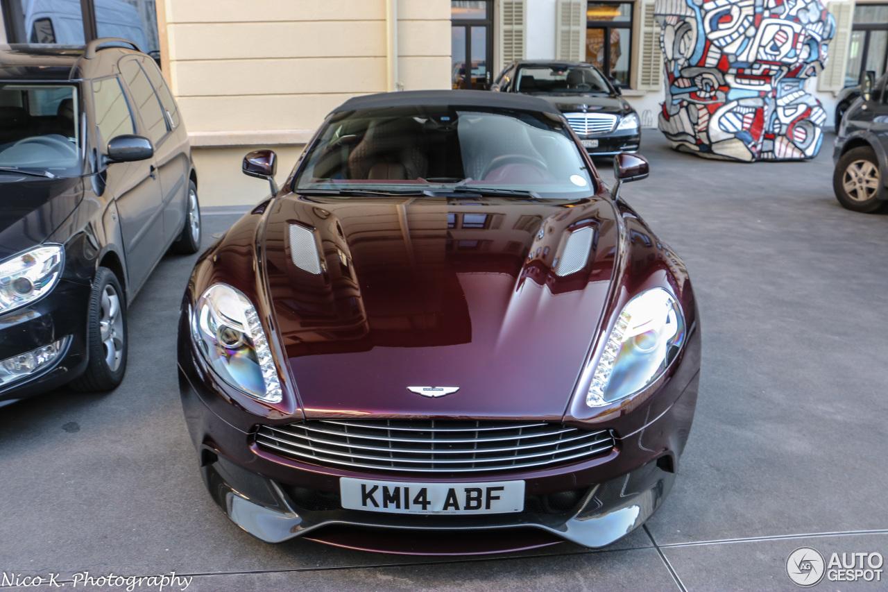 Aston Martin Vanquish Volante 21 May 2015 Autogespot