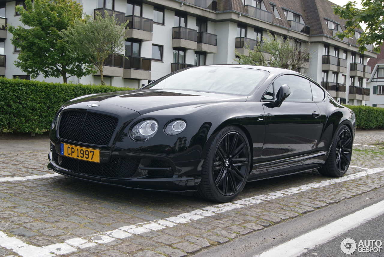 Bentley Continental Gt Speed 2015 23 Mai 2015 Autogespot