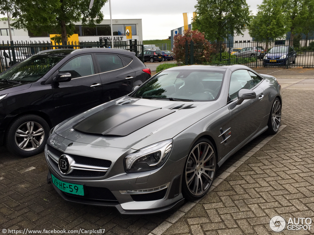 Mercedes benz brabus 850 roadster 23 may 2015 autogespot for Mercedes benz 850