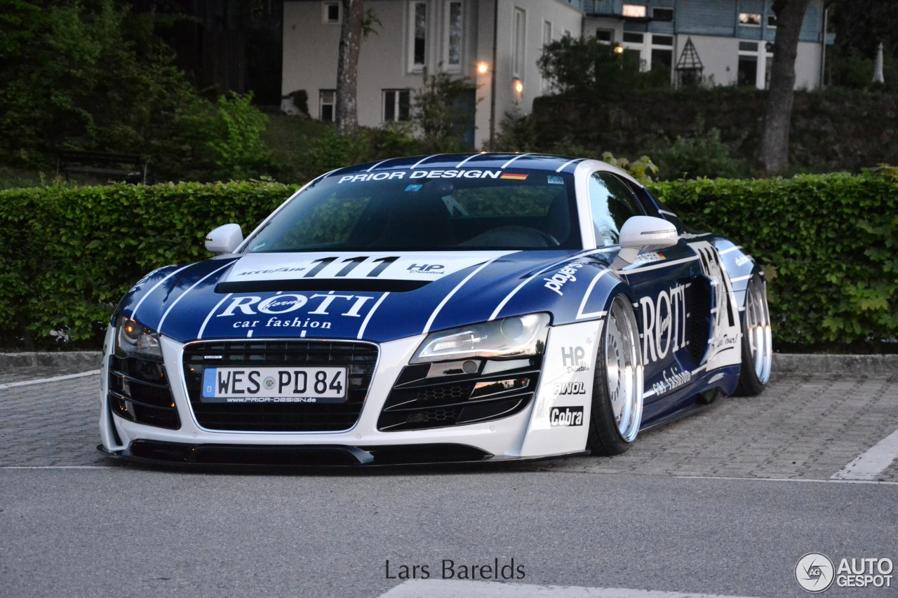Audi R8 Prior Design 24 Mai 2015 Autogespot