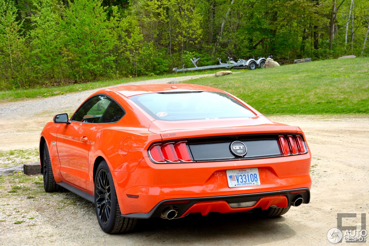ford mustang gt 50th anniversary edition 24 may 2015 autogespot. Cars Review. Best American Auto & Cars Review