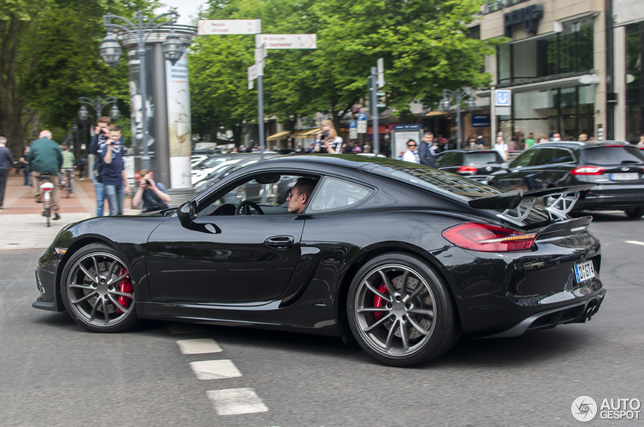 porsche 981 cayman gt4 24 mai 2015 autogespot. Black Bedroom Furniture Sets. Home Design Ideas