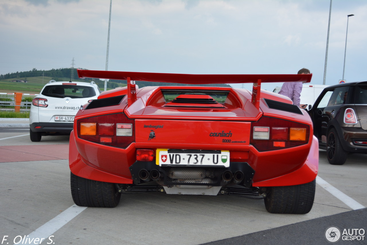 Lamborghini Countach 5000 Quattrovalvole 25 May 2015