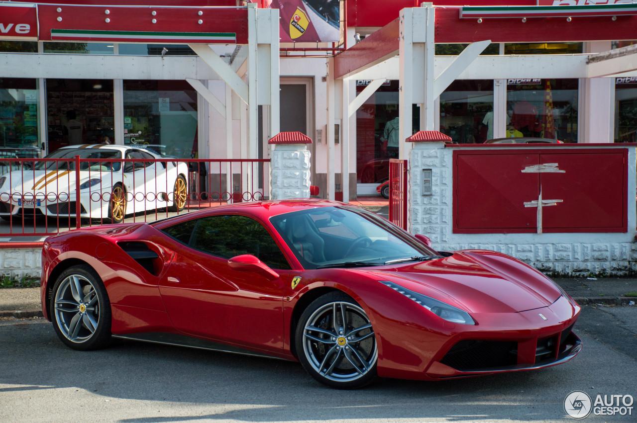 8 i ferrari 488 gtb 8 - Ferrari 488 Gtb Black