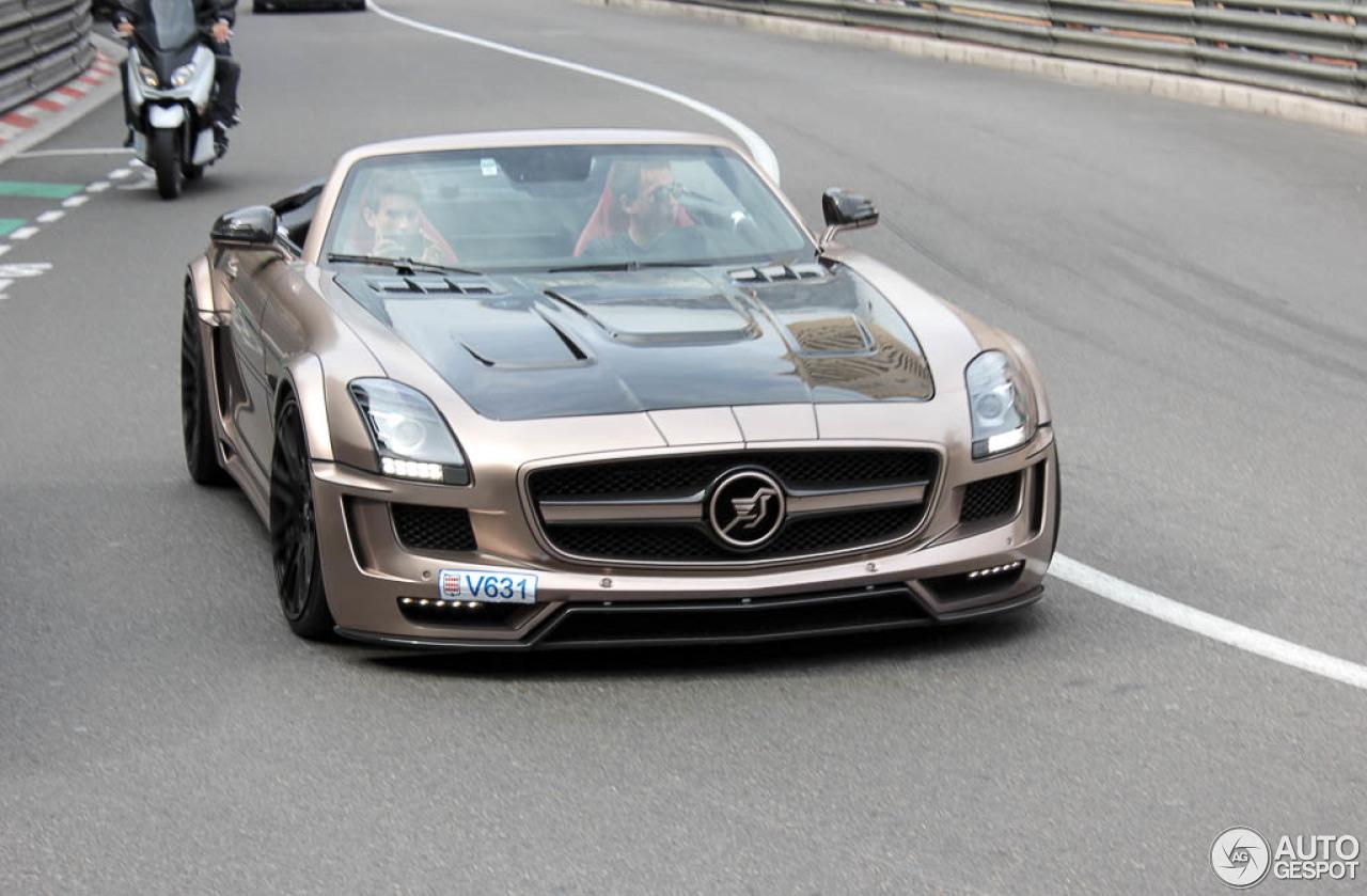 Mercedes benz hamann hawk sls amg roadster 29 may 2015 for Mercedes benz hamann