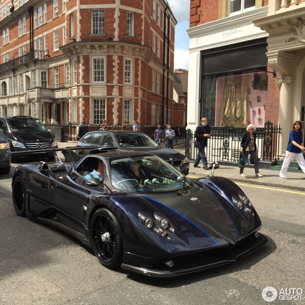 pagani zonda 760 vr roadster - 29 may 2015 - autogespot
