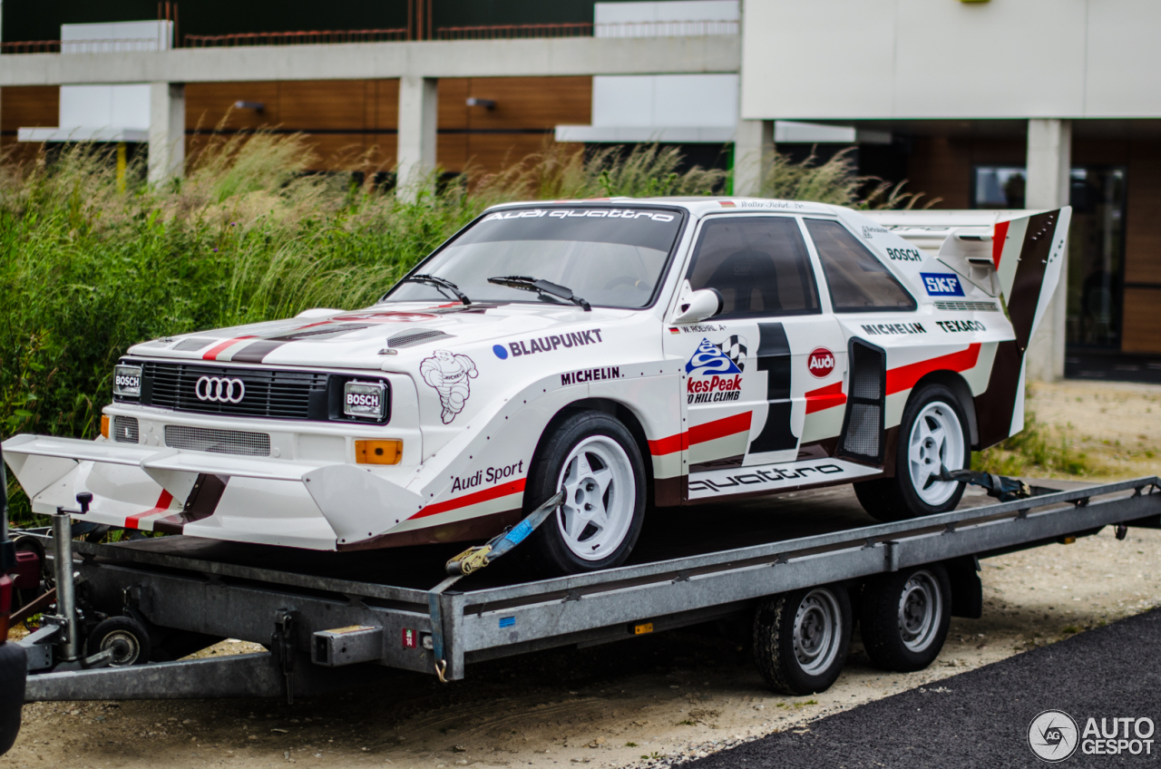 audi sport quattro s1 pikes peak 31 may 2015 autogespot. Black Bedroom Furniture Sets. Home Design Ideas