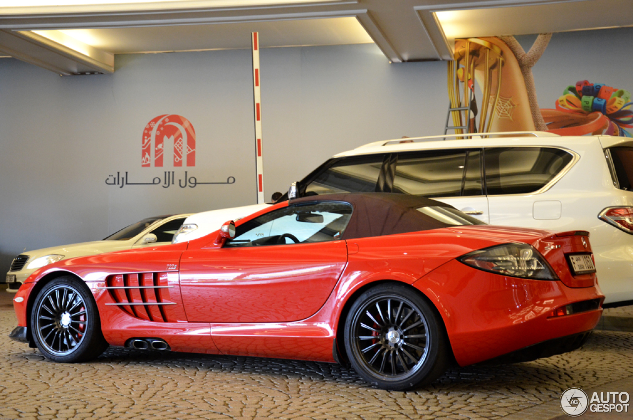 Mercedes benz slr mclaren roadster 722 s 31 may 2015 for Mercedes benz slr mclaren price