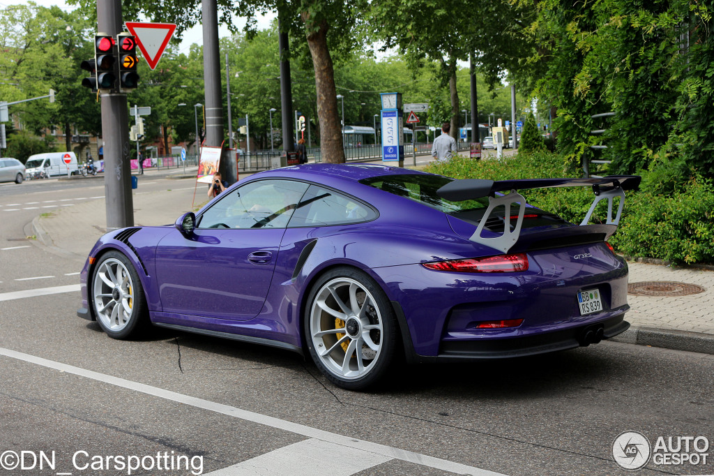 porsche 991 gt3 rs 31 mai 2015 autogespot. Black Bedroom Furniture Sets. Home Design Ideas