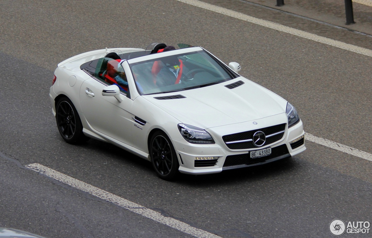 mercedes benz slk 55 amg r172 1 june 2015 autogespot. Black Bedroom Furniture Sets. Home Design Ideas