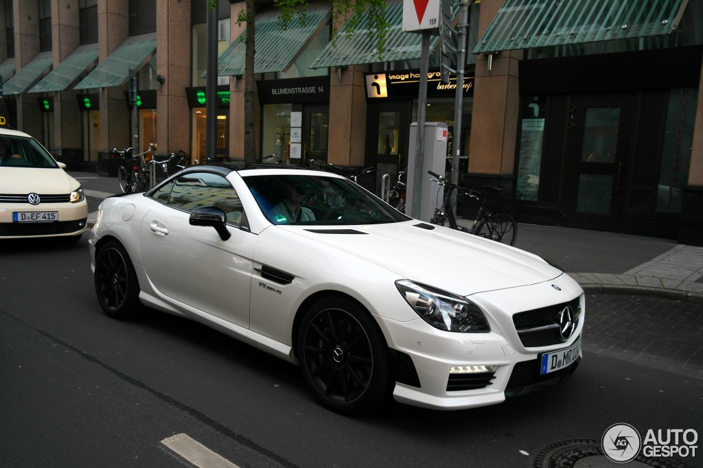 mercedes benz slk 55 amg r172 carbonlook edition 1 june 2015 autogespot. Black Bedroom Furniture Sets. Home Design Ideas