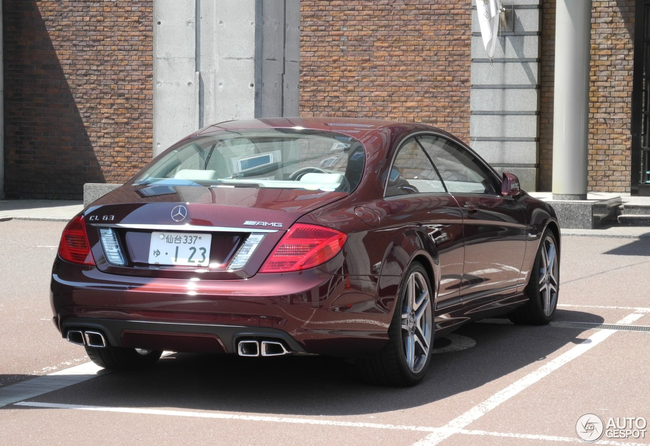 mercedes benz cl 63 amg c216 2011 4 june 2015 autogespot. Black Bedroom Furniture Sets. Home Design Ideas