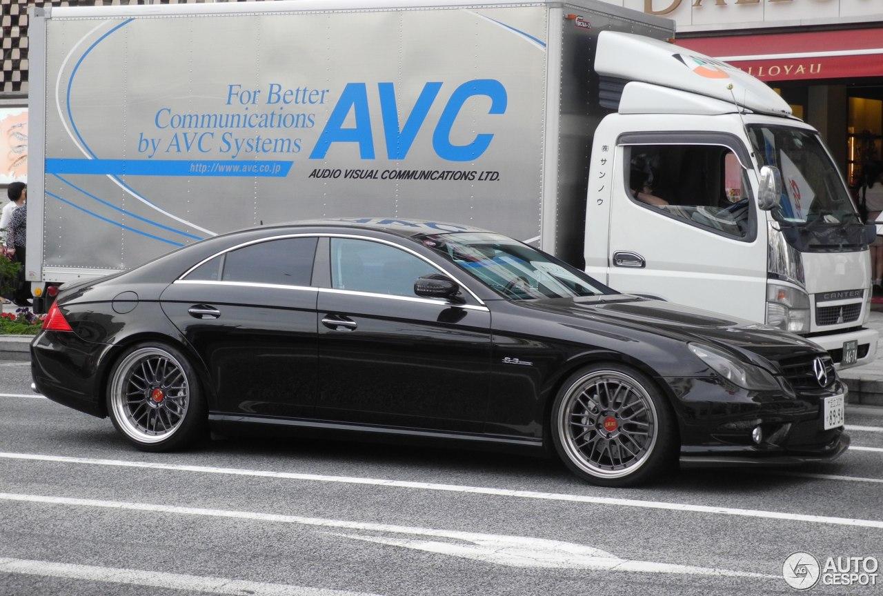 Mercedes benz cls 63 amg c219 2008 5 june 2015 autogespot for Mercedes benz cls series