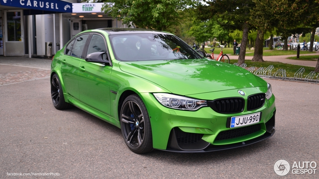 Bmw M3 F80 Sedan 2014 6 June 2015 Autogespot