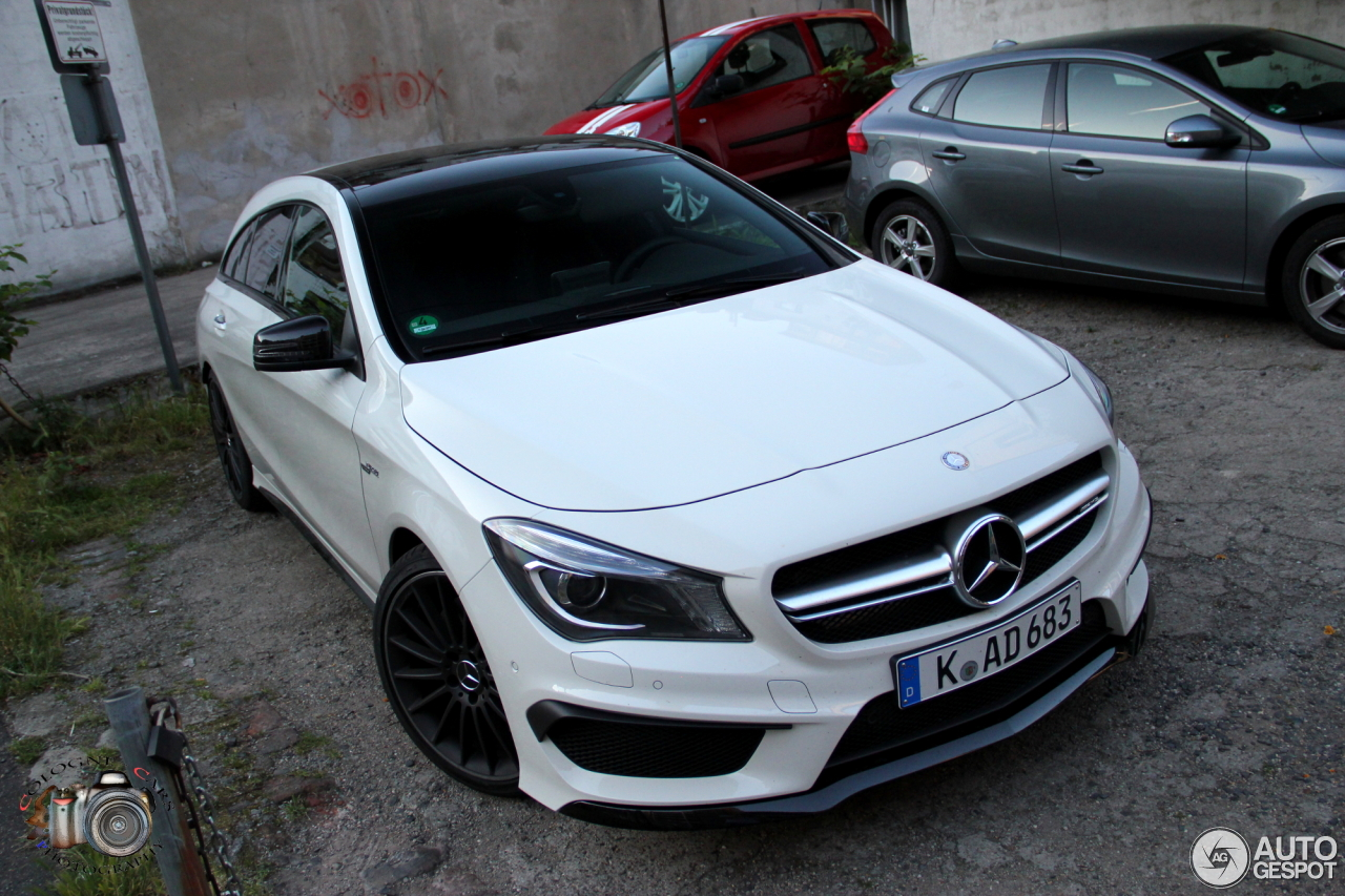 mercedes benz cla 45 amg shooting brake 6 june 2015 autogespot. Black Bedroom Furniture Sets. Home Design Ideas