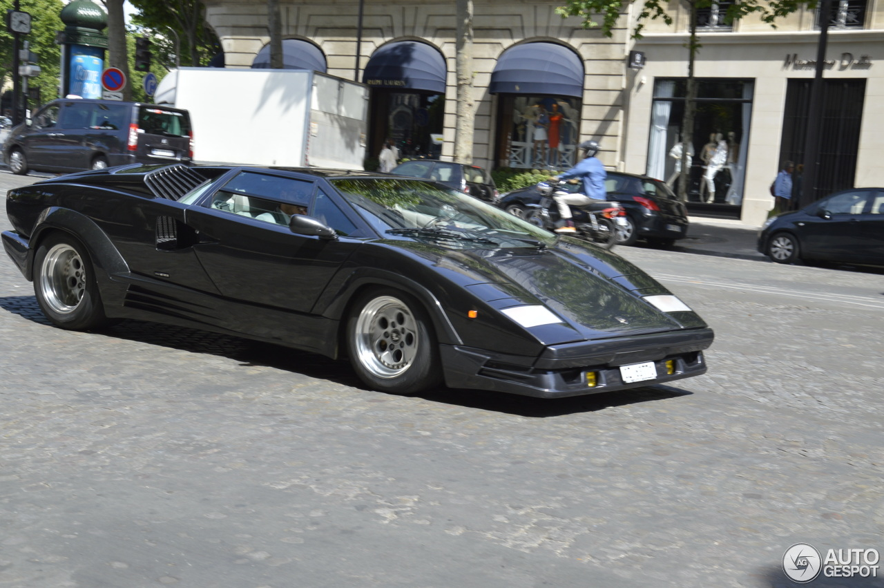 lamborghini countach 25th anniversary 7 june 2015 autogespot. Black Bedroom Furniture Sets. Home Design Ideas