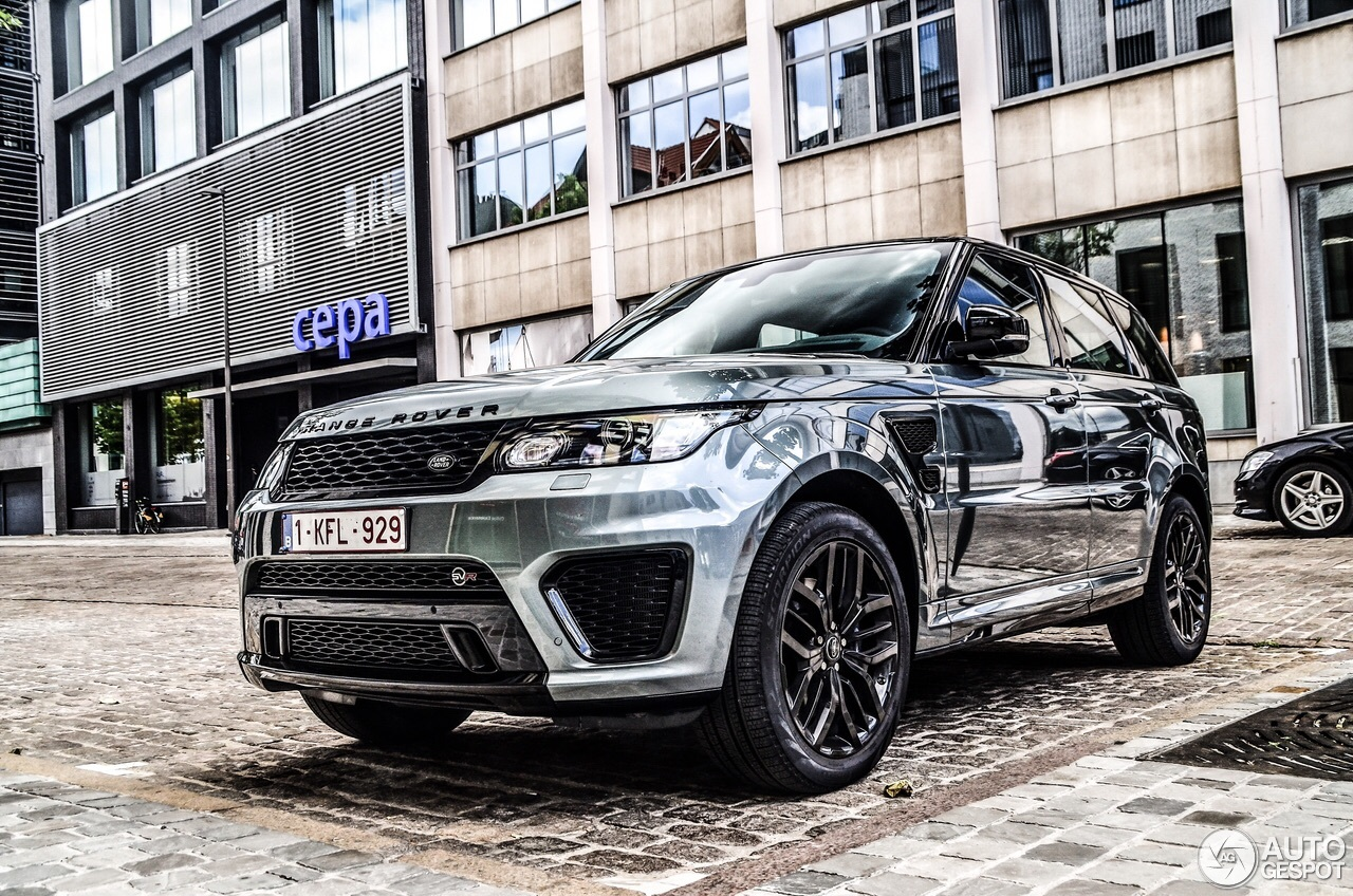 land rover range rover sport svr 8 june 2015 autogespot. Black Bedroom Furniture Sets. Home Design Ideas