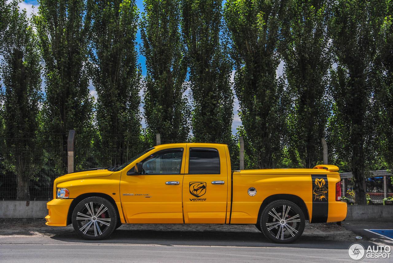 dodge ram srt 10 quad cab yellow fever edition 9 june 2015 autogespot. Black Bedroom Furniture Sets. Home Design Ideas