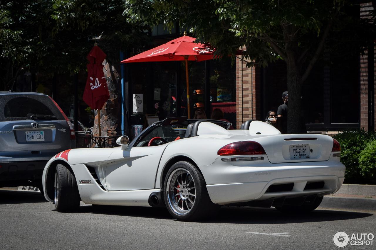 Dodge Viper SRT-10 Roadster White Mamba Edition - 10 June ...