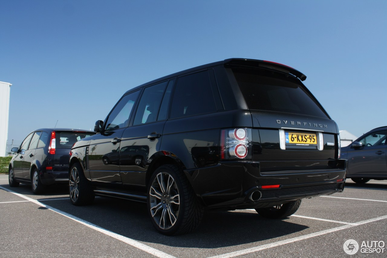 land rover overfinch range rover autobiography 12 juni. Black Bedroom Furniture Sets. Home Design Ideas