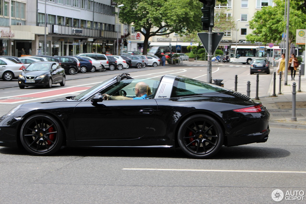 porsche 991 targa 4 gts 13 june 2015 autogespot. Black Bedroom Furniture Sets. Home Design Ideas