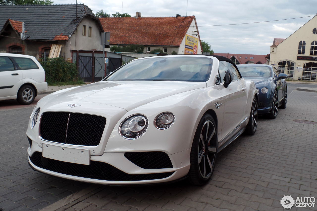 Bentley Continental Gtc V8 S 2016 16 June 2015 Autogespot