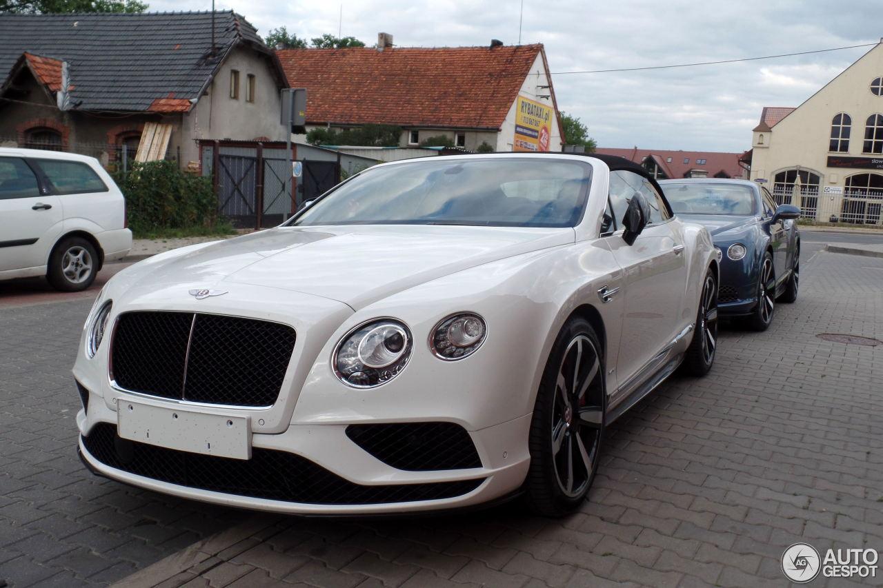 Bentley Continental Gtc V8 S 2016 16 Juin 2015 Autogespot