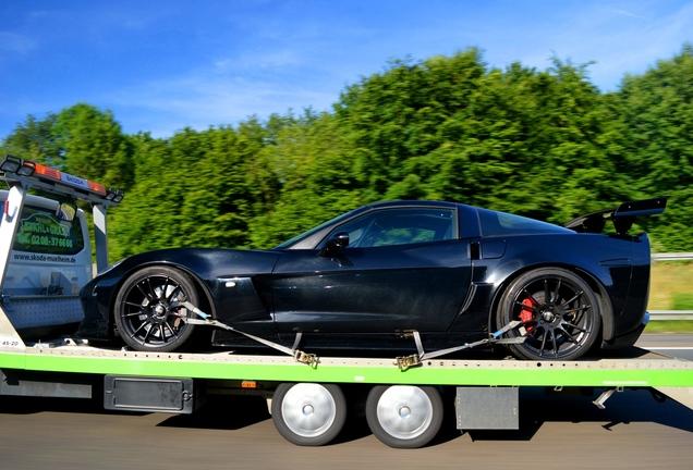 Chevrolet Corvette C6 Z06 Geiger Black Edition