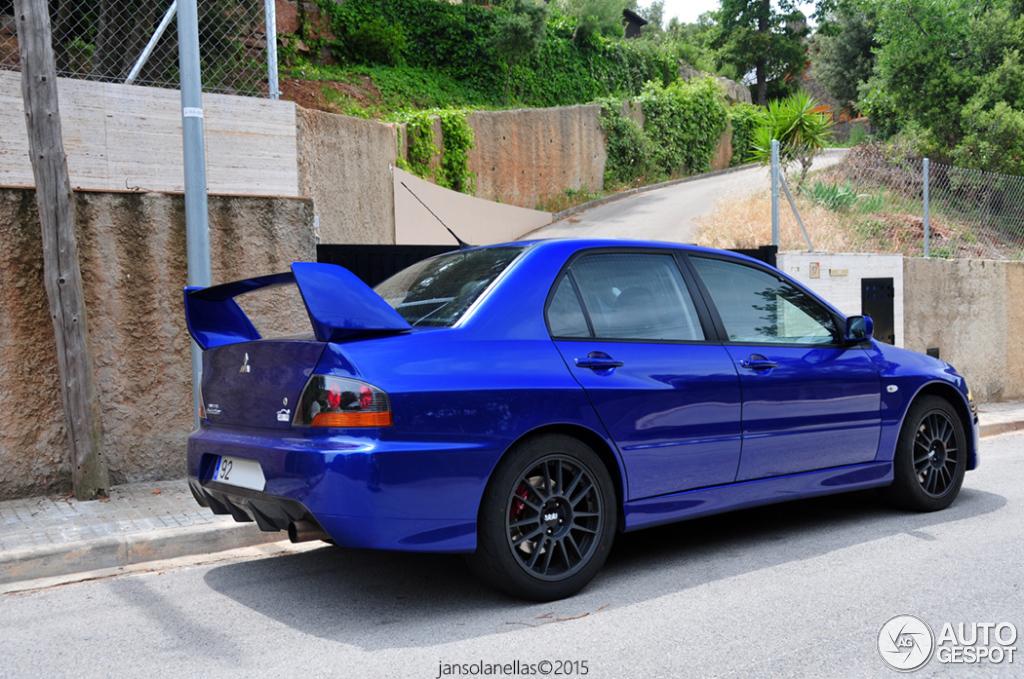 4 i mitsubishi lancer evolution ix 4 - Mitsubishi Evo 9 Blue