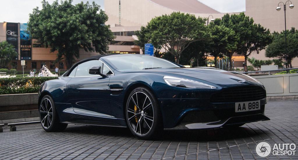 Aston Martin Vanquish Volante Neiman Marcus Edition C