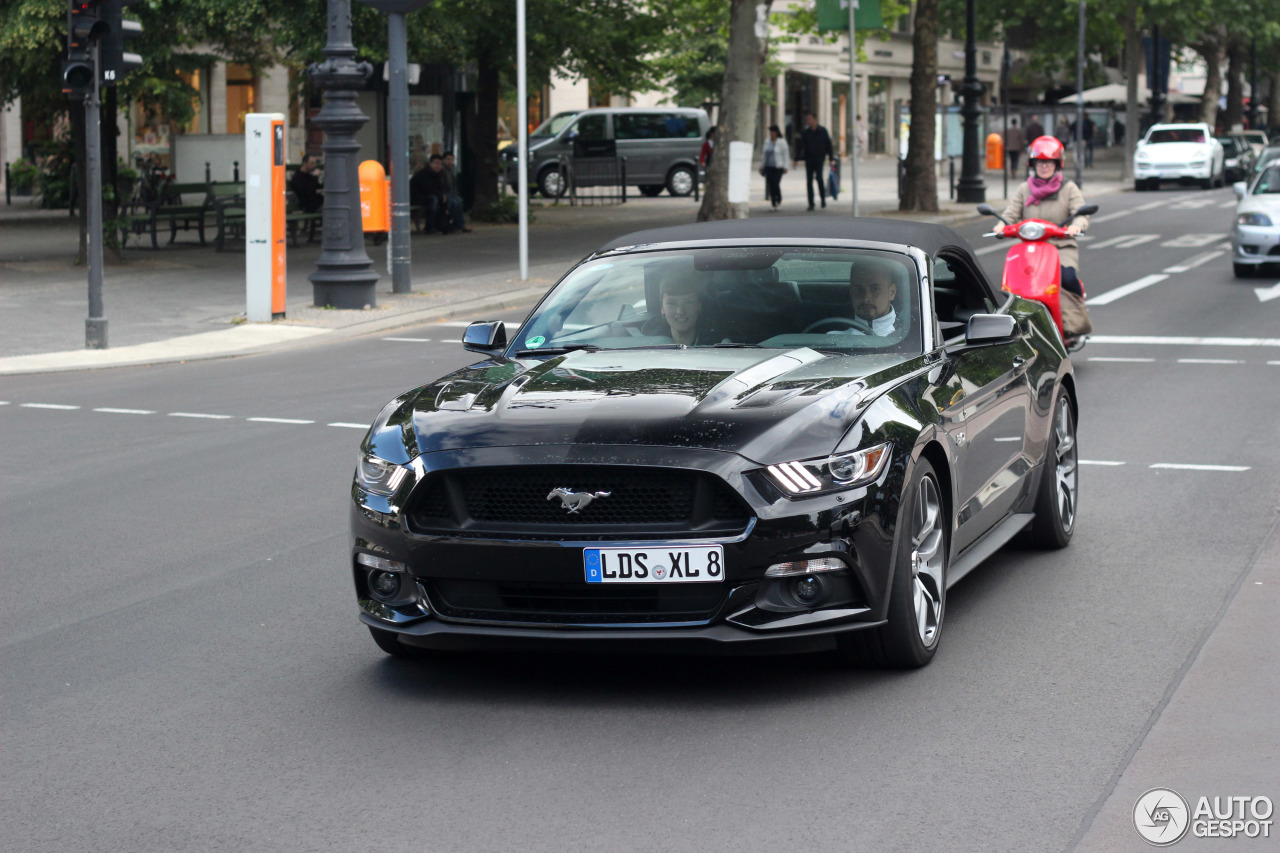 ford mustang gt convertible 2015 - 20 june 2015 - autogespot