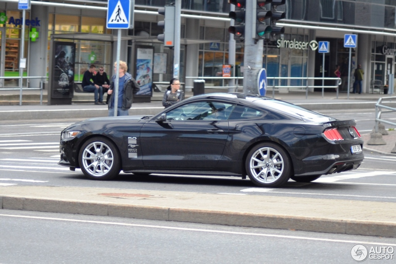 ford mustang gt 50th anniversary edition 21 june 2015 autogespot. Black Bedroom Furniture Sets. Home Design Ideas
