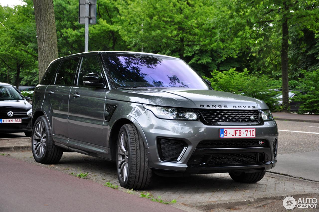 Range Rover Svr For Sale >> Land Rover Range Rover Sport SVR - 21 June 2015 - Autogespot
