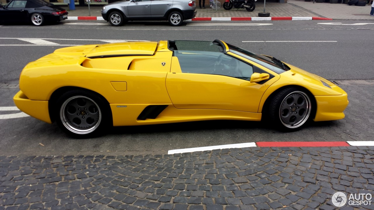 Lamborghini Diablo Vt Roadster 25 June 2015 Autogespot